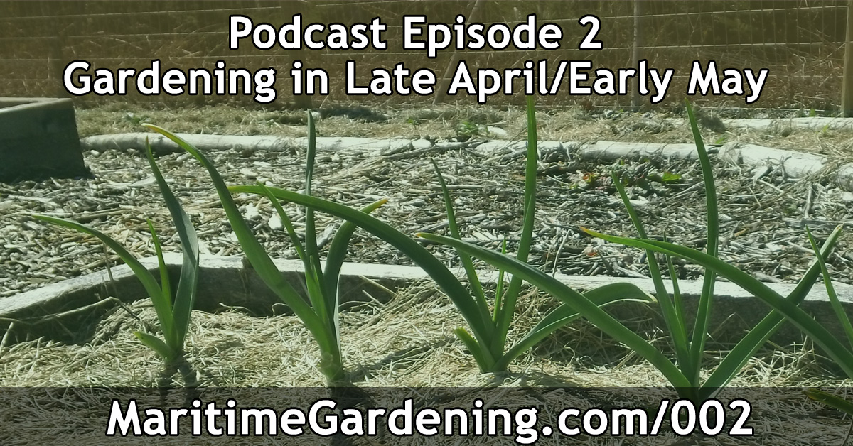 Maritime Gardening Podcast Episode 002