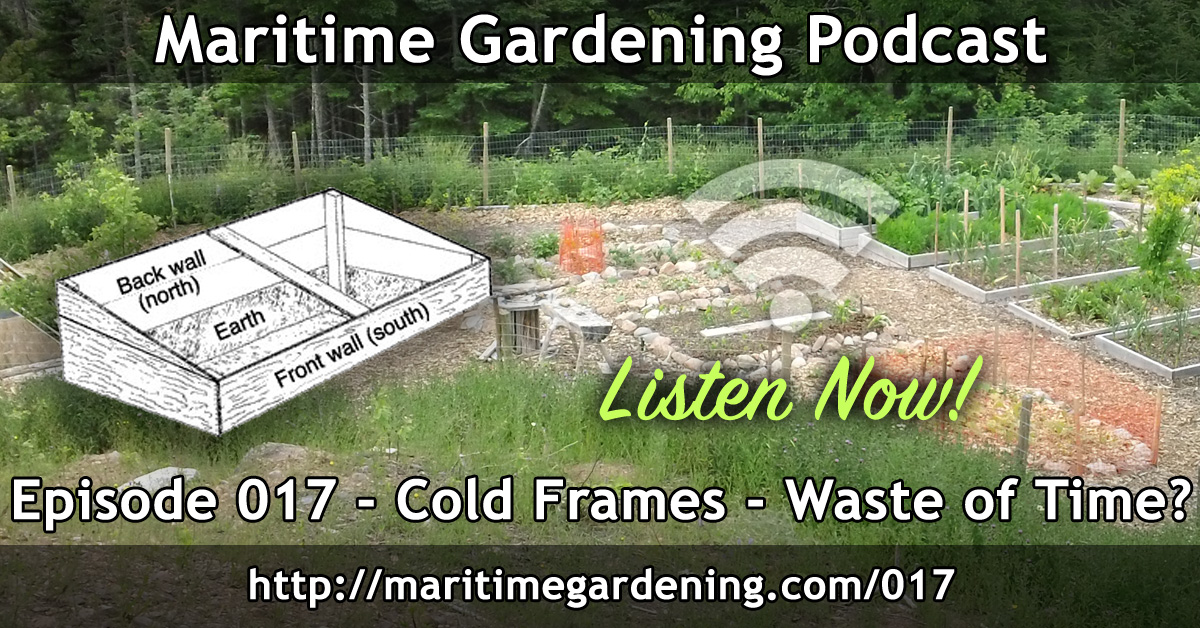 Cold Frames - Waste of Time in Zone 5? - Episode 017