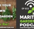 Episode 33 - Build Your Own Herb Garden