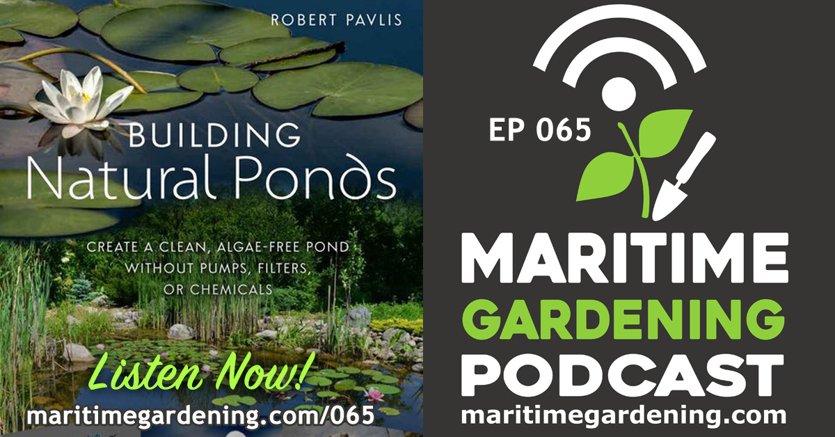 065: Building Natural Ponds with Robert Pavlis
