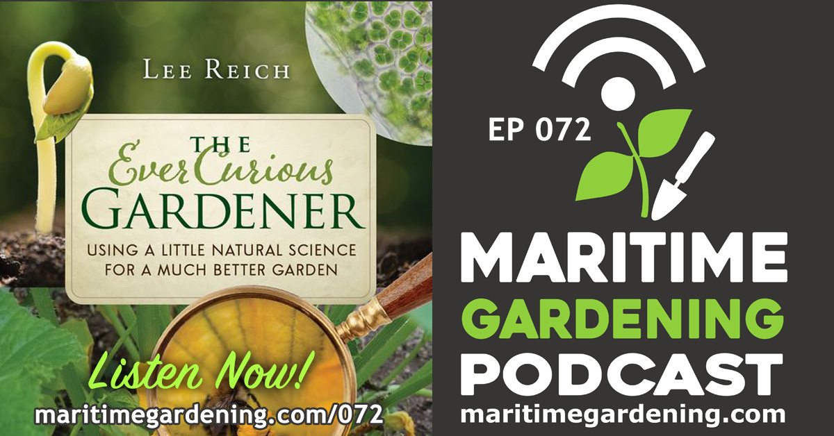 "This episode is part one of a two part interview with author and horticulturalist Dr. Lee Reich, where we discuss his new book, ""The Ever Curious Gardener"". In particular, we focus on the topic of soil organic matter, and its relation to tillage, fertilization, composting and mulching. If you want to see Lee Reich on YouTube, go here: https://www.youtube.com/user/LeeReichFarmden If you want to see or buy any of his books, check out his blog, or just know more about Lee, check out his website here: http://www.leereich.com"