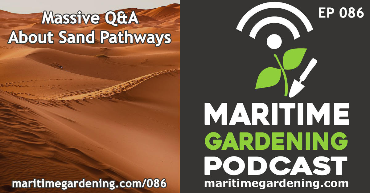 Episode 86 - Massive Q&A About Sand Pathways