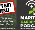 089: More Things You Don't Need to Buy with Robert Pavlis