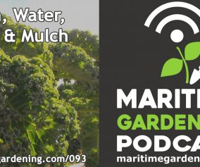 Podcast Episode 93 - Sun, Water, Soil & Mulch