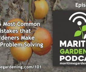 Gardening Mistakes Podcast Episode