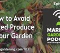 Avoid Wasted Produce in Your Garden